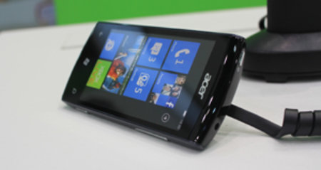 Acer W4 Windows Phone 7 Mango handset spotted at Computex
