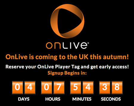 OnLive set to launch in UK this Autumn