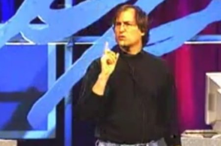 VIDEO: Steve Jobs describes iCloud services at WWDC... 1997
