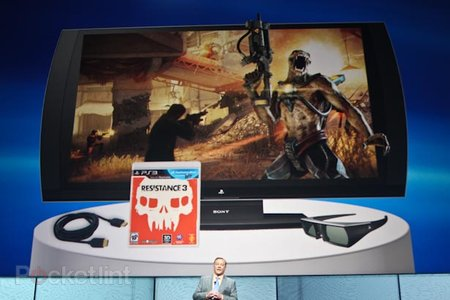 Sony PlayStation 3D 24-inch monitor gives you 3D gaming in your bedroom