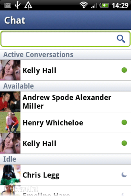 HTC Salsa: Facebook features explored - photo 22