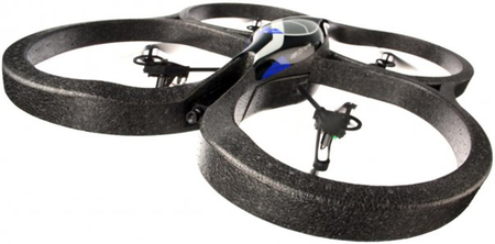 Parrot AR.Drone lands on Android, Bada and Symbian