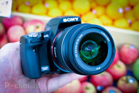 Sony SLT-A35 hands-on