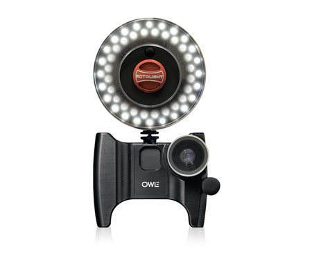 OWLE Bubo transforms iPhone 4 into fully fledged video camera