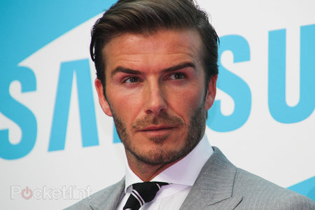 David Beckham helps launch Samsung's Olympic Games tech strategy