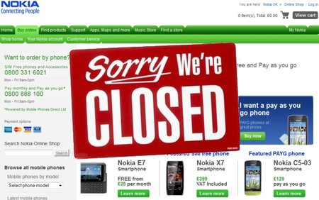 Nokia shutting up shop in the UK