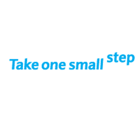 WEBSITE OF THE DAY – Take One Small Step