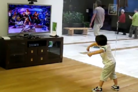 VIDEO: Super cool kid busts some killer Kinect moves