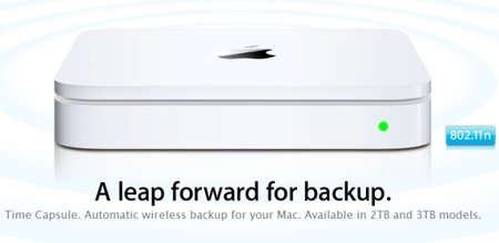 Apple Time Capsule: Now available with 3TB of storage