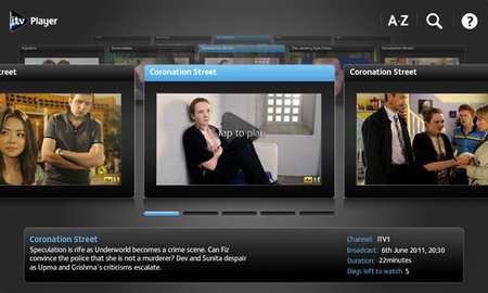 ITV Player app lands on Android