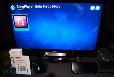 SlingPlayer for Boxee Box ready for action