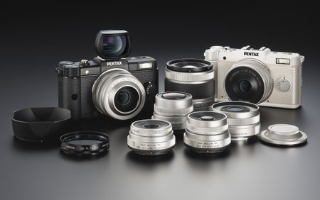 Pentax Q incoming: Pocket-size interchangeable lens camera lands