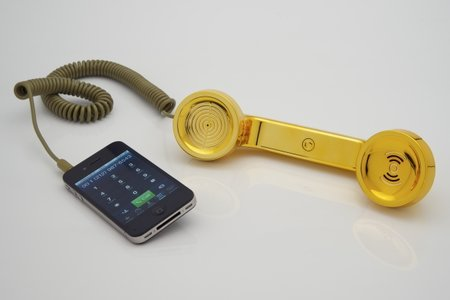 Brilliantly ridiculous blinging, ringing handsets