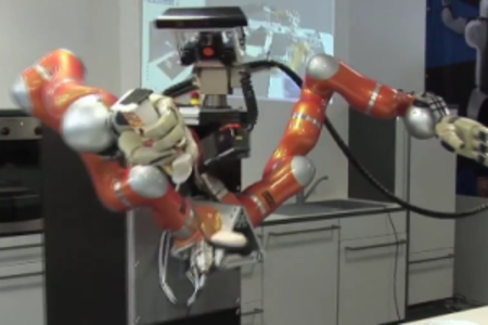 VIDEO: German robots cooking up a storm