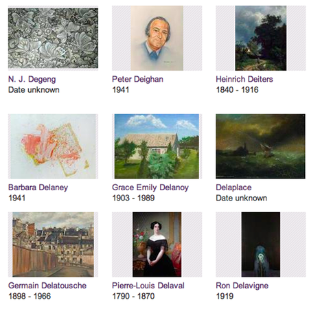 WEBSITE OF THE DAY – Your Paintings