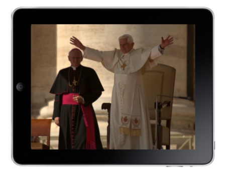 iPope: Pontiff tweets from an iPad