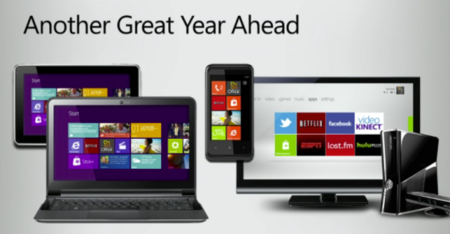 Ballmer talks up 'dawning' of Windows tablets, as Windows 7 continues to sell well
