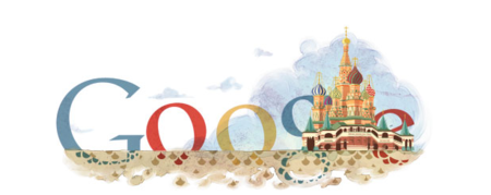 Google celebrates 450 years of Saint Basil's Cathedral