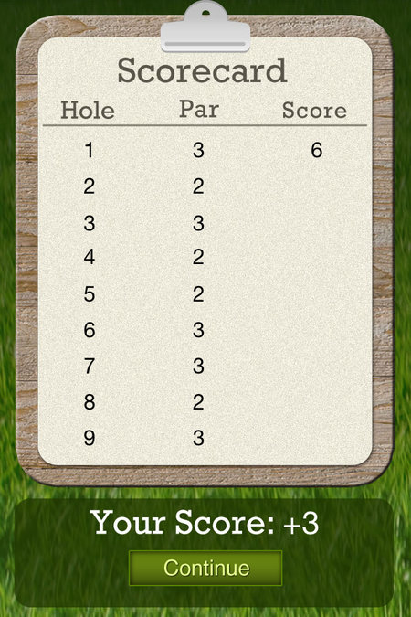 APP OF THE DAY: Puttluck review (iPhone) - photo 7