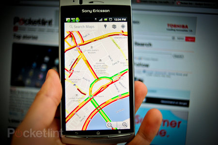 Improved European traffic info hits Google maps