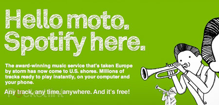 Spotify launches in the US, Motorola integration incoming?