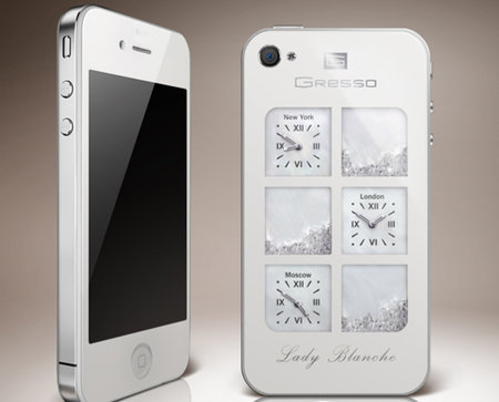 Gresso unleashes $30,000 limited edition white iPhone 4