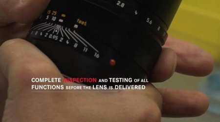 VIDEO: How a Leica lens is made
