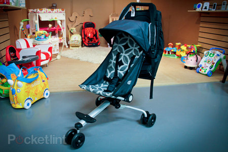 QuickSmart Back Pack Stroller debuts in UK