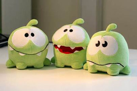 Cut the Rope set for digital comic series
