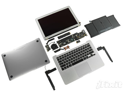 MacBook Air 2011 teardown