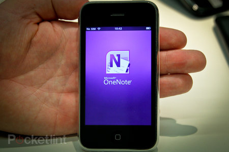 Microsoft OneNote for iPhone 1.2 hands-on