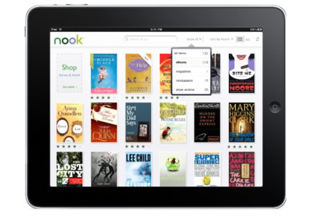 Barnes & Noble responds to Amazon with Nook iPad app update