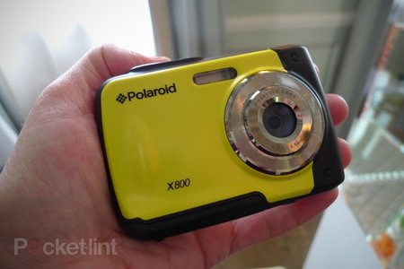 Polaroid X800E waterproof camera hands-on