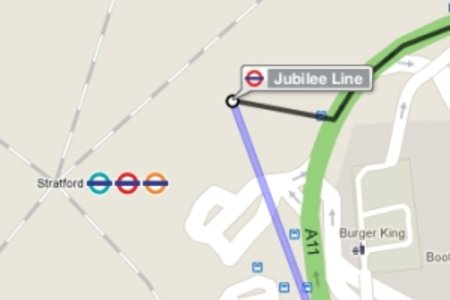 Mind the Google Map: Tube directions now included