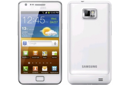 White Samsung Galaxy S II official: Coming 1 September