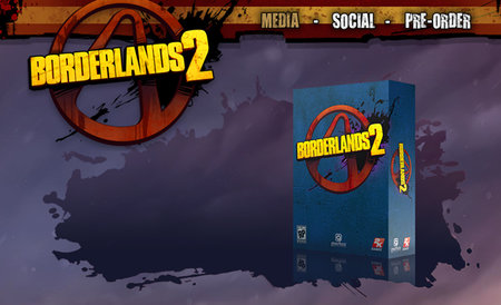 Borderlands 2 makes an appearance