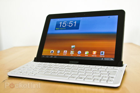 Samsung Galaxy Tab 10.1 Keyboard Dock hands-on