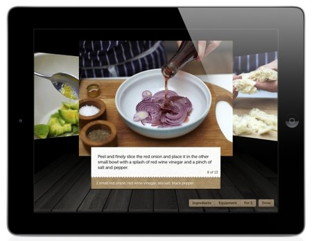 APP OF THE DAY: Jamie's Recipes for iPad review  (iPad) - photo 2