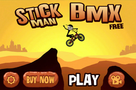 APP OF THE DAY: Stickman BMX review (iOS)