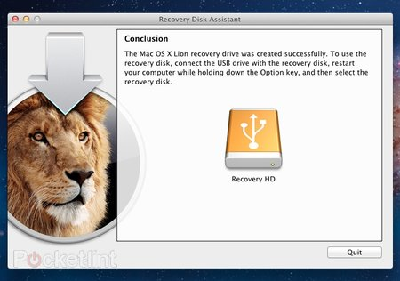 How to create an Apple Mac OS X Lion Recovery Disk - photo 7
