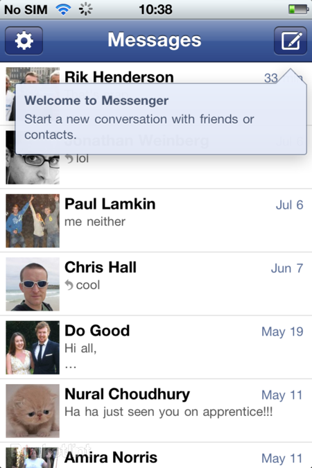 APP OF THE DAY: Facebook Messenger review (iOS) - photo 4