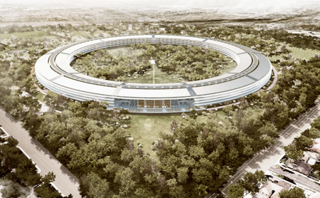 Apple details its futuristic new campus