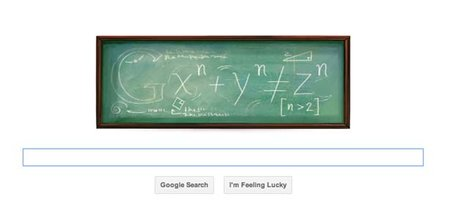 Google Doodle throws Pierre de Fermat a birthday party
