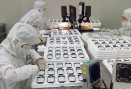iPhone 5 pictures from factory hint at gesture based home button