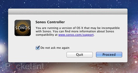 Sonos promises Lion fix
