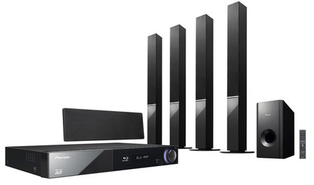 Pioneer to launch quartet of Blu-ray home cinema systems