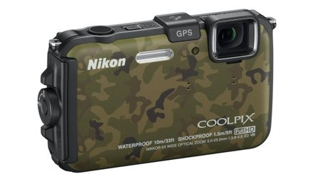 Nikon Coolpix AW100 rugged camera breaks cover