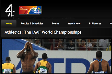 WEBSITE OF THE DAY – Channel 4 Athletics