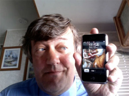 iPhone not Stephen Fry's greatest gadget
