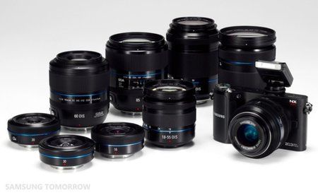 Samsung NX200: The 20.3 megapixel mirrorless camera with interchangeable lens